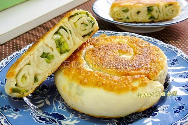 蜗牛葱饼的做法