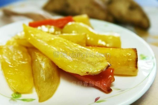橙汁蜂蜜烤番薯的做法
