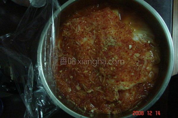腌韩式泡菜的做法