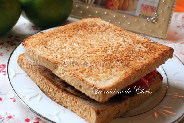 烤三明治的做法