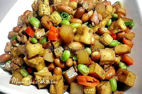 八宝臭豆腐的做法