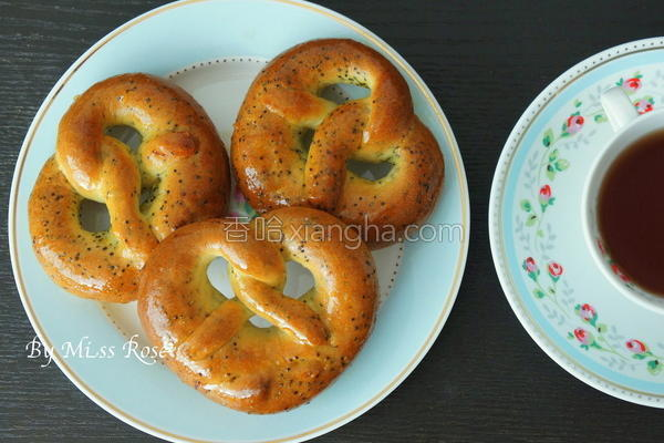 蝴蝶饼面包的做法