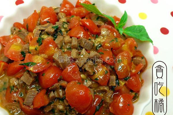 塔香番茄牛肉丁的做法