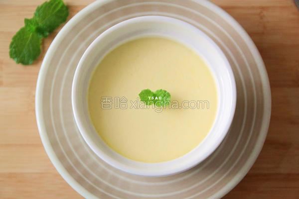 杏仁炼乳蒸布丁的做法