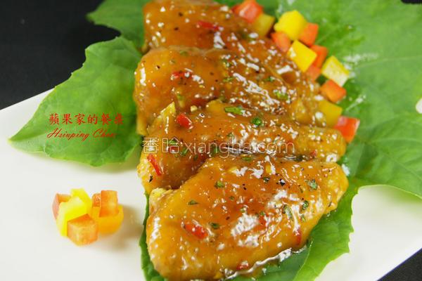 蜂蜜芒果辣味鸡翅的做法