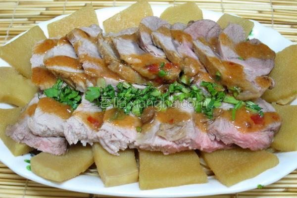 卤麻笋猪腱肉的做法