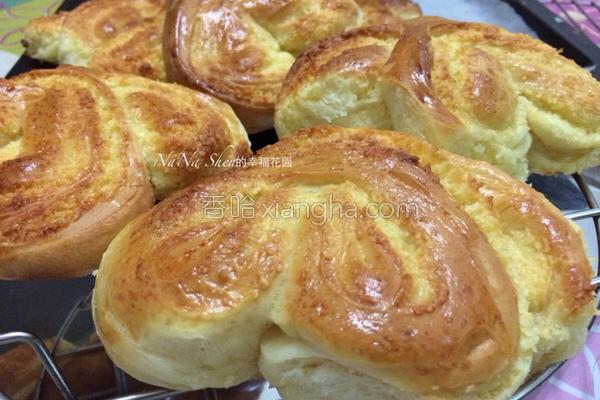 椰子面包的做法