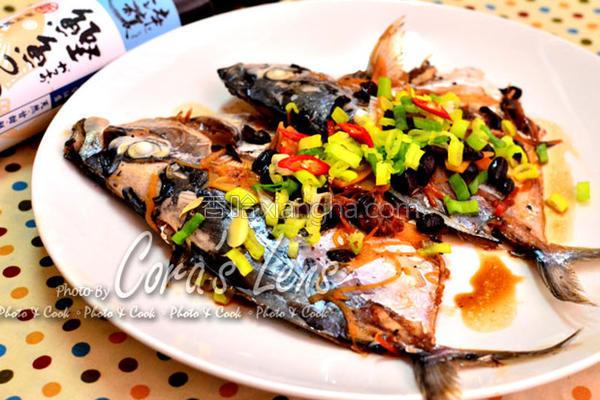 豆豉煮皮刀鱼的做法