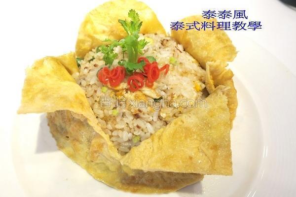 虾酱炒饭的做法