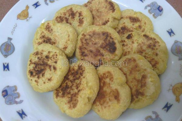 地瓜豆渣甜饼的做法