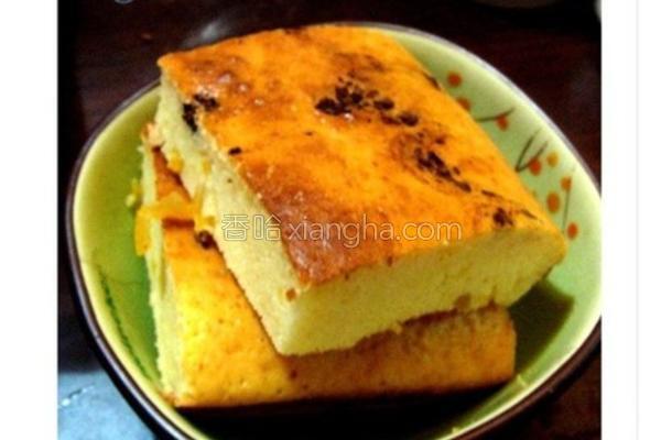 蜂蜜柚子蛋糕的做法