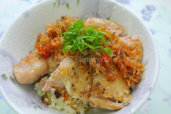 砂锅XO酱鸡腿饭的做法