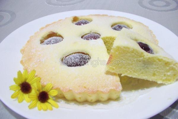 樱桃奶油蛋糕的做法