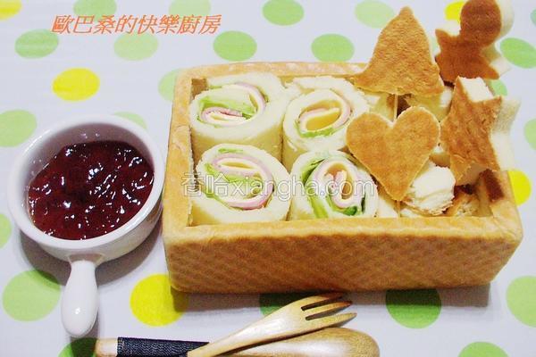 欢乐圣诞面包餐盒