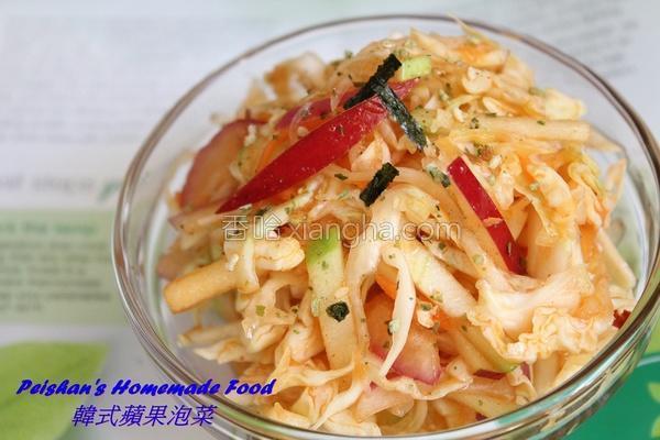 韩式苹果泡菜的做法
