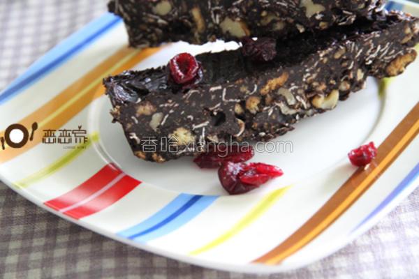 巧克力燕麦棒的做法