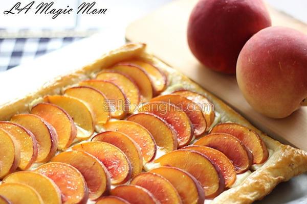 美式蜜桃酥派的做法