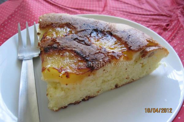 焦糖凤梨蛋糕的做法