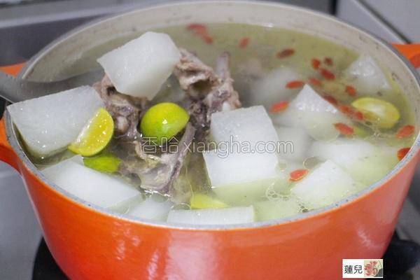 萝卜鸡汤的做法