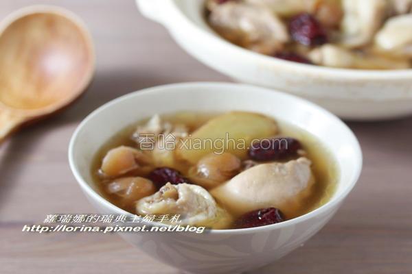 桂圆红枣鸡汤的做法