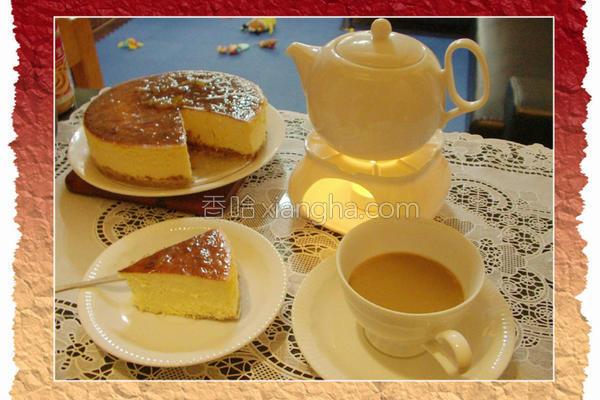 柚香起司蛋糕的做法