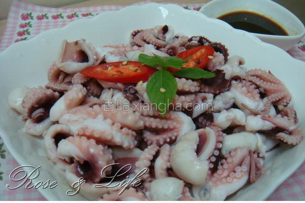 清烫小章鱼的做法