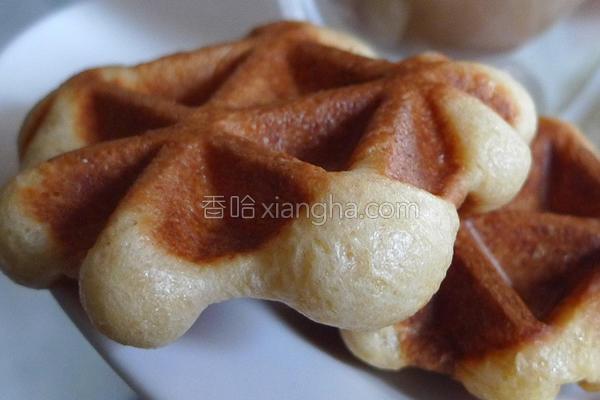 比利时松饼的做法