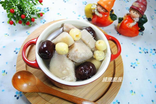 冰糖莲子芋头汤的做法