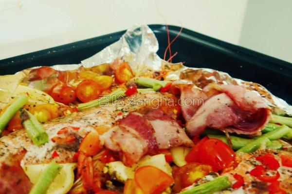烤盘烤鱼的做法