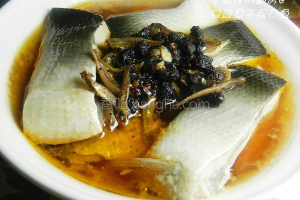 豆豉鱼干虱目鱼的做法