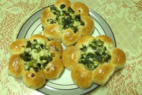 葱花面包的做法