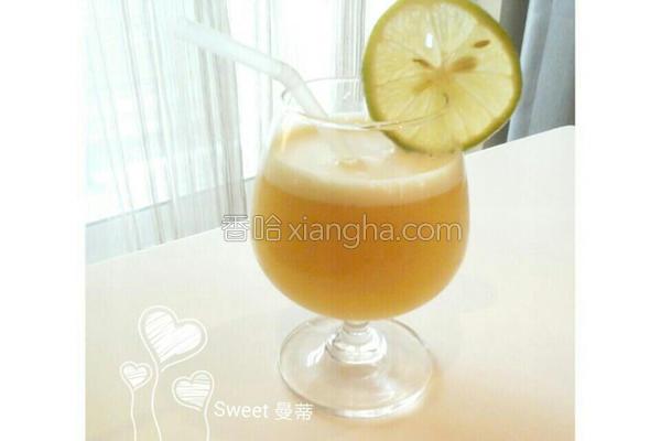 百香果蛋蜜汁的做法