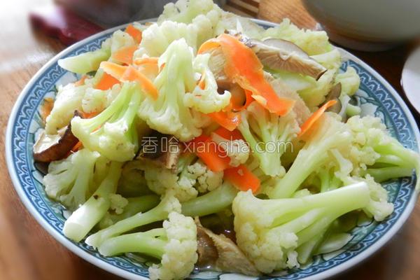 料理花椰菜的做法