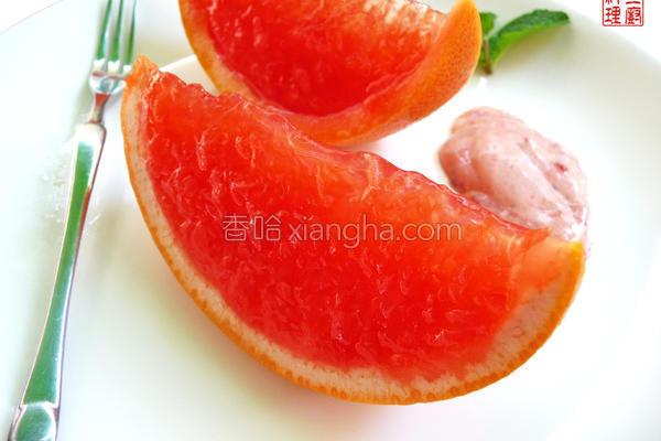 葡萄柚冻的做法