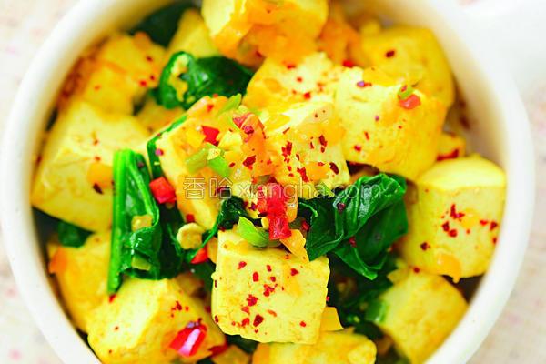 热炒豆腐的做法