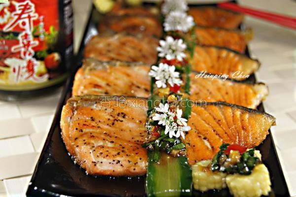 酱烧鲑鱼的做法