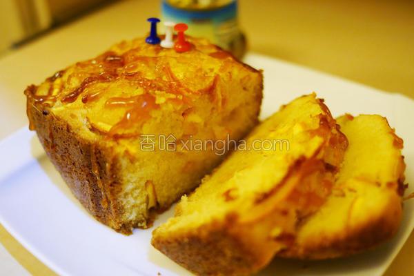 橙香磅蛋糕的做法