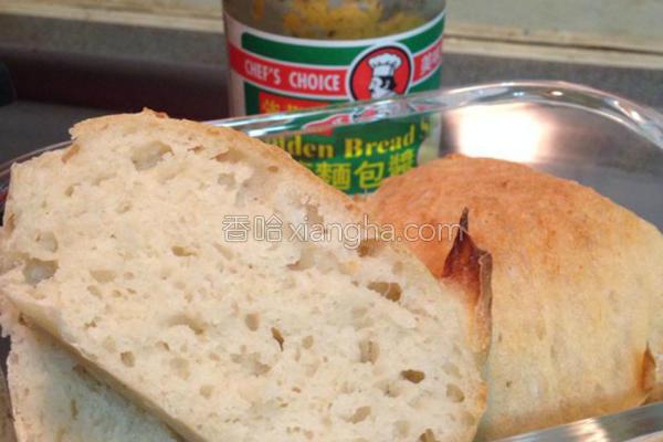 健康免揉面包的做法