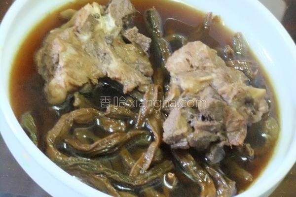 客家排骨豆干汤的做法