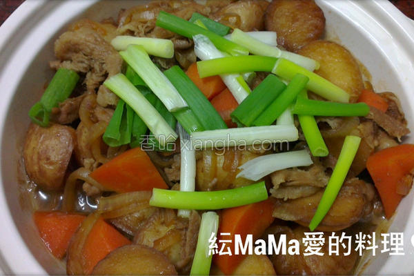 马铃薯炖猪肉的做法