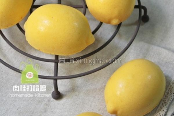 柠檬造型蛋糕的做法