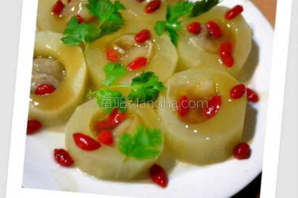 大黄瓜镶墨鱼饺的做法