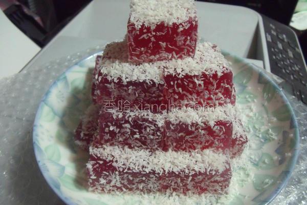 蔓越莓软糖的做法