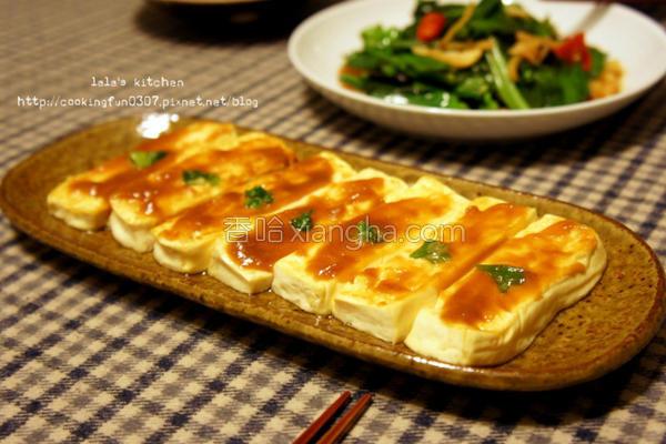 麻油辣味噌豆腐的做法