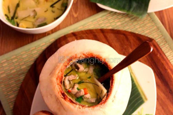 泰式酸辣椰奶汤的做法
