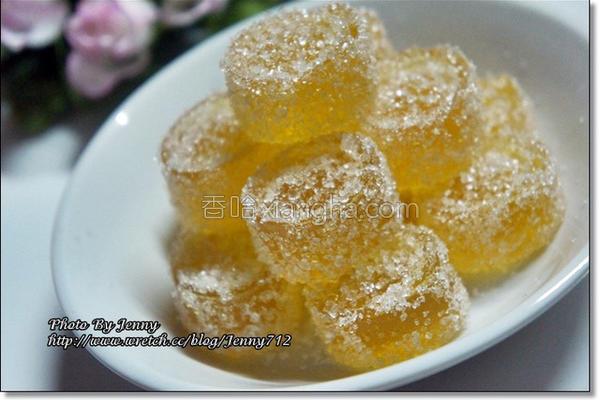 芒果果汁软糖的做法
