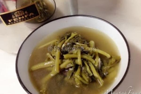 西洋菜汤的做法