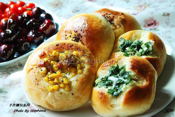 甜式面包的做法