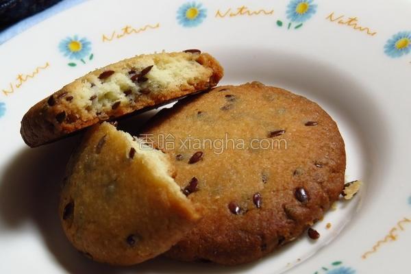 亚麻籽饼干的做法