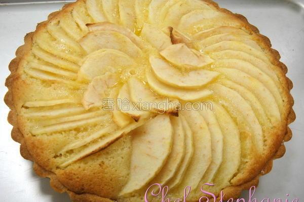 法式杏仁苹果塔的做法